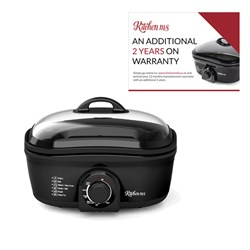 Kitchen M8 8 in 1 Multicooker with Additional 2 Year Warranty