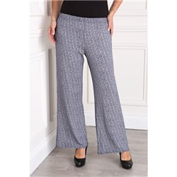 Printed Palazzo 27 Inch Trousers
