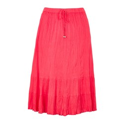 Bonmarche Tiered Crinkle Skirt 29in