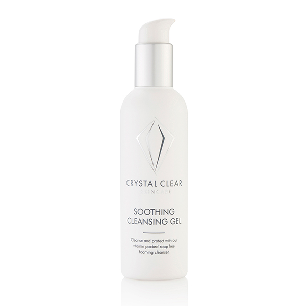 Crystal Clear Soothing Cleansing Gel 200ml No Colour