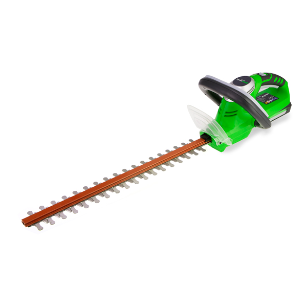 Greenworks 24V Lithium-Ion Cordless Hedge Trimmer with Battery and Charger No Colour