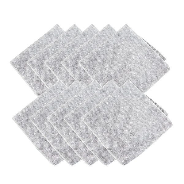 Microfibre Cloths (10 Pack) No Colour