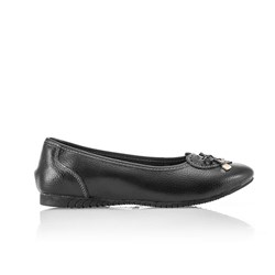 Cushion Walk Comfort Leather Ballerina