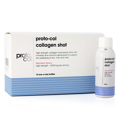Proto-col Collagen Shots - Red Berry Flavour 10 Day Programme (10 Bottles x 50ml)