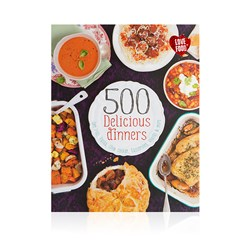 Image of 500 Delicious Dinners