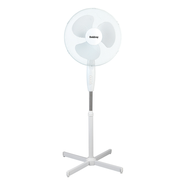 Beldray 16Inch Oscillating Stand Fan No Colour