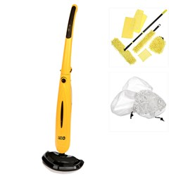 TriangYellO Everyday Steam Mop With Micro YellO Cleaning System Plus 3 Mop Heads