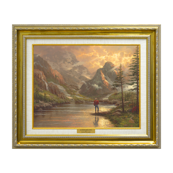 Thomas Kinkade Almost Heaven Open Edition Canvas Classic No Colour