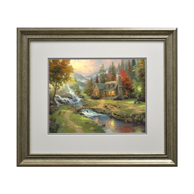 Thomas Kinkade Mountain Paradise Open Edition Print