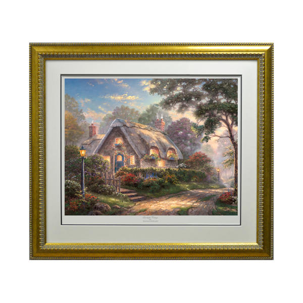 Thomas Kinkade Lovelight Cottage Limited No Colour