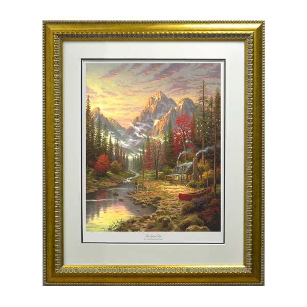Thomas Kinkade Good Life Limited Edition No Colour