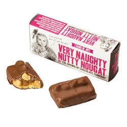 The Grown Up Chocolate Very Naughty Nutty Nougat