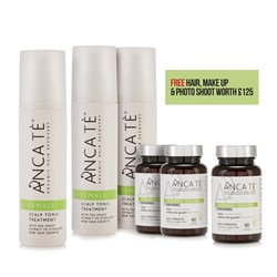 ANCA TE Female Healthy Hair Growth Kit - 3 Month Programme with Photo Shoot Voucher