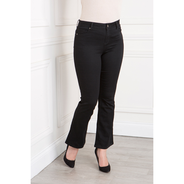Sugar Crisp Shape and Lift 30 Inch Bootcut Jean Black