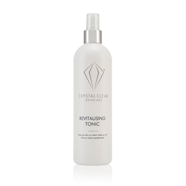 Crystal Clear Salon Professional Size Revitalising Facial Tonic 400ml No Colour