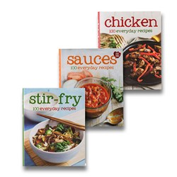 Image of 100 Everyday Recipes set of 3 Books