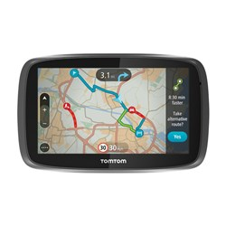 TomTom Go 5000 EU 5 inch Sat Nav, UK and Full EU Mapping, Lifetime Map Updates, Lifetime Traffic Updates
