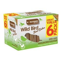 6 Pack Suet Cake Promotional Pack