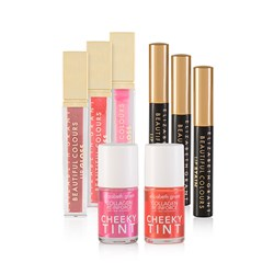Elizabeth Grant Lip and Cheek Collection (3 x Lipstain, 3 x Lipgloss, 2 x Cheek Tint)