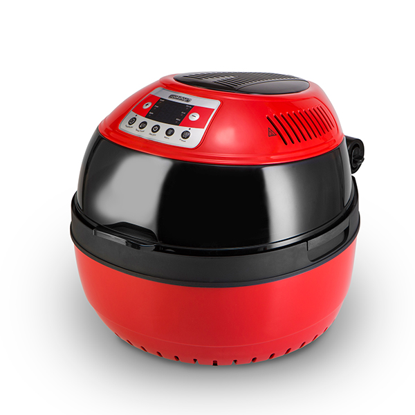 Cookshop Turbo Wave 360 Air Fryer Red And Black