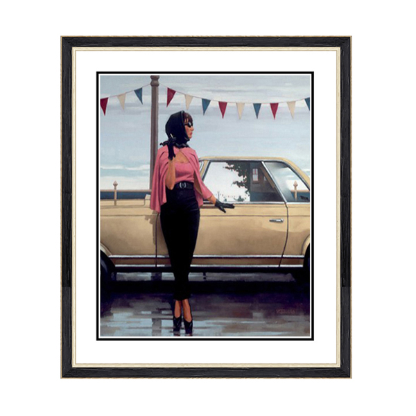 Jack Vettriano Suddenly One Summer Print No Colour