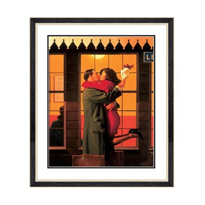 Jack Vettriano Back Where You Belong Print