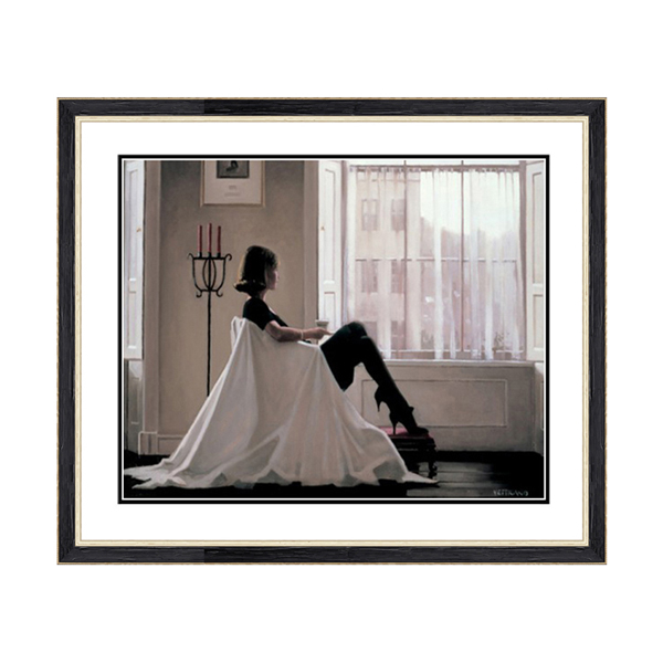 Jack Vettriano In Thoughts of You Print No Colour