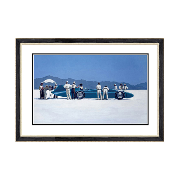 Jack Vettriano Bluebird at Bonnville Print No Colour