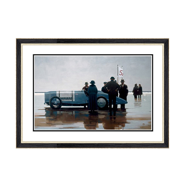 Jack Vettriano Pendine Beach Print No Colour