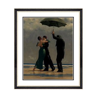 Jack Vettriano Dancer in Emerald Print