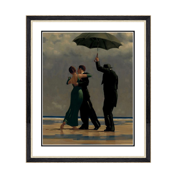 Jack Vettriano Dancer in Emerald Print No Colour
