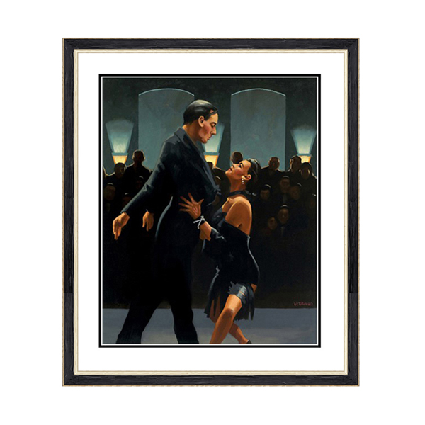 Jack Vettriano Rumba in Black Print No Colour
