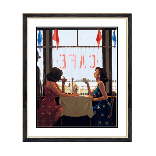Jack Vettriano Cafe Days Print No Colour