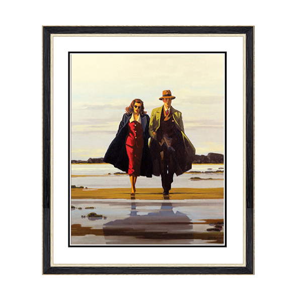 Jack Vettriano Road to Nowhere Print No Colour