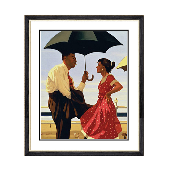 Jack Vettriano Bad Boy Good Girl Print No Colour