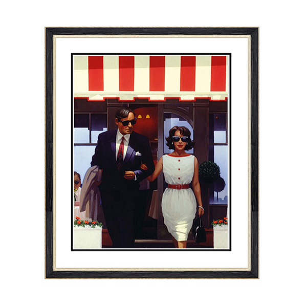 Jack Vettriano Lunchtime Lovers Print No Colour
