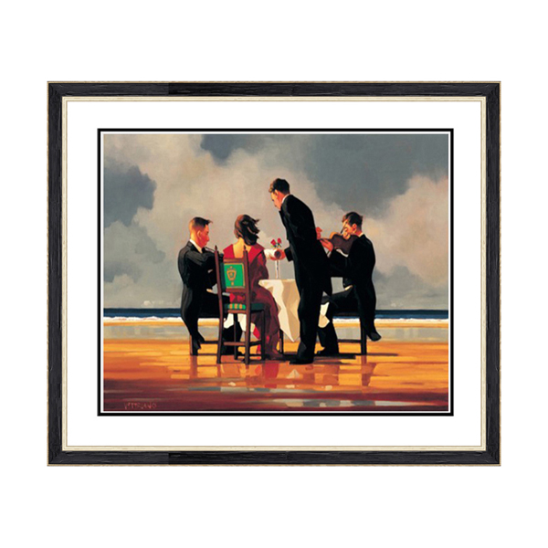 Jack Vettriano Elergy For a Dead Admiral No Colour