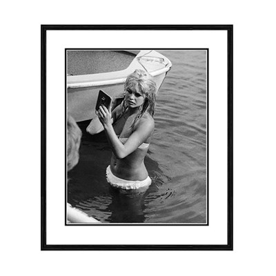 Getty Images Bardot in Lake Leman Print