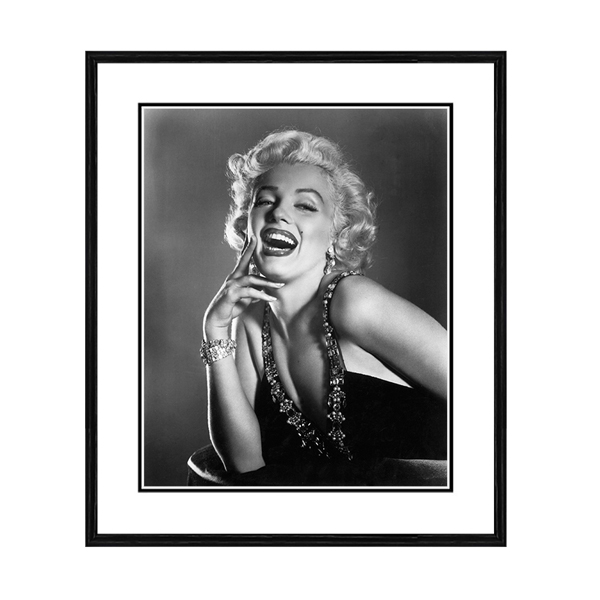 Getty Images Laughing Monroe Print No Colour
