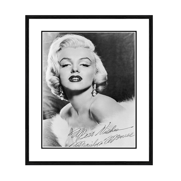 Getty Images Best Wishes Marilyn Print No Colour