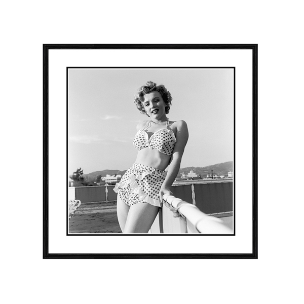 Getty Images Rooftop Marilyn Print No Colour