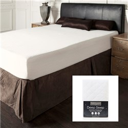 Sleep Genie King Size Tricore 2000 Mattress & Free Quilted Deep Sleep Mattress Protector
