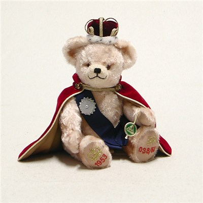 Little Queen Diamond Coronation Bear by HERMANN - Spielwaren - Limited Edition 60 pieces