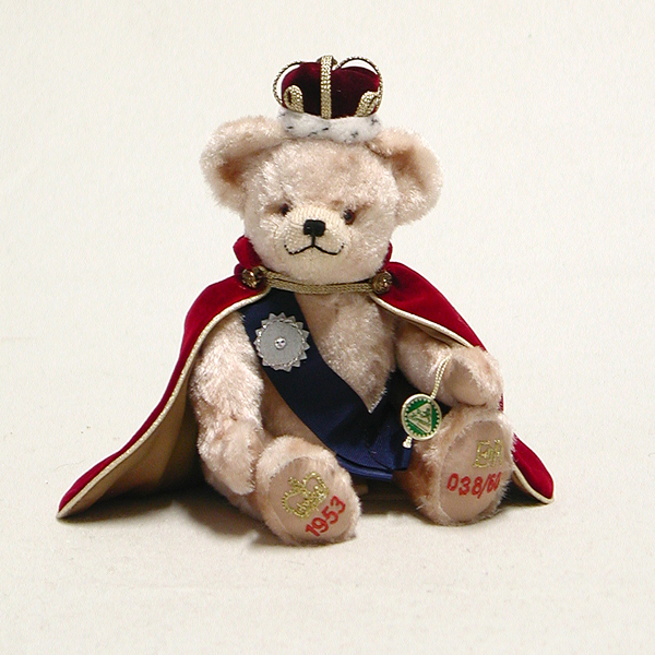 Little Queen Diamond Coronation Bear by HERMANN - Spielwaren - Limited Edition 60 pieces No Colour