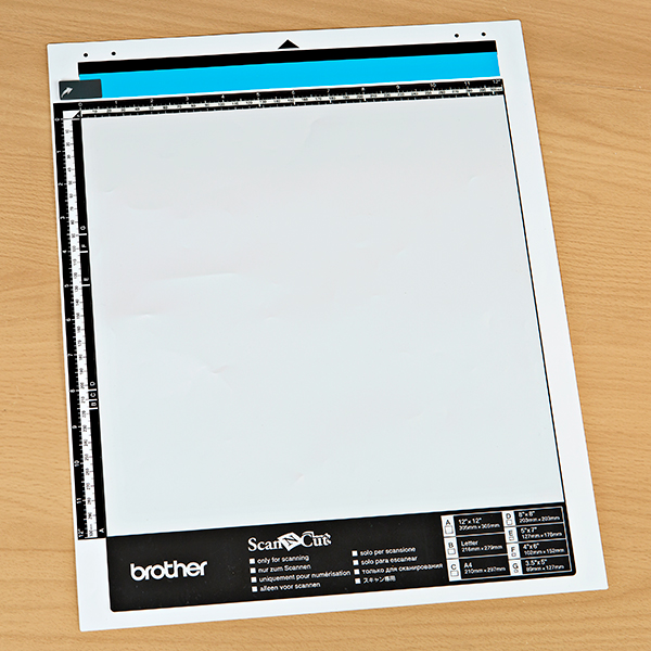ScanNCut Scanning Mat 12 x12 No Colour