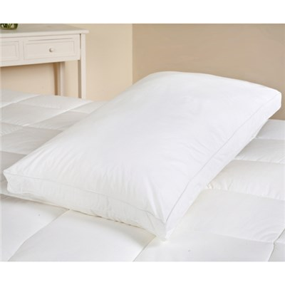 Downland Duck Feather and Down Box Pillow 40 x 70cm