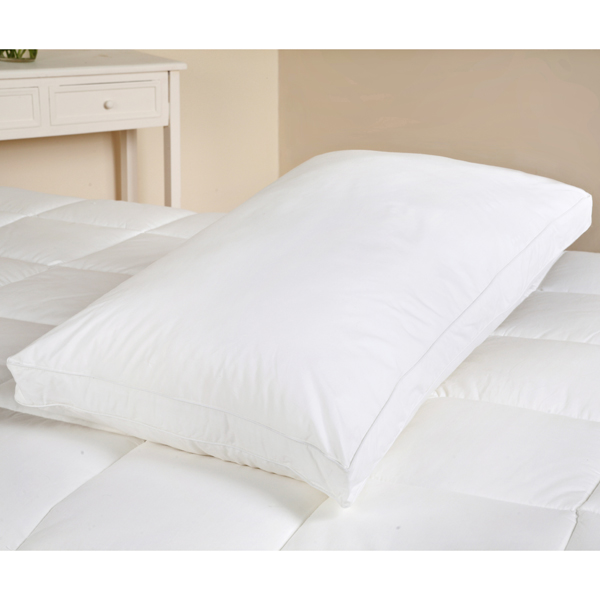 Downland Duck Feather and Down Box Pillow 40 x 70cm No Colour