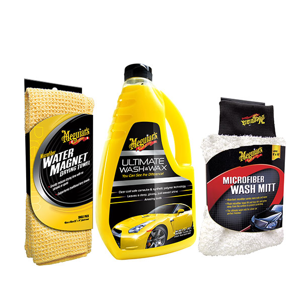 Meguairs Ultimate Wash & Wax Kit No Colour