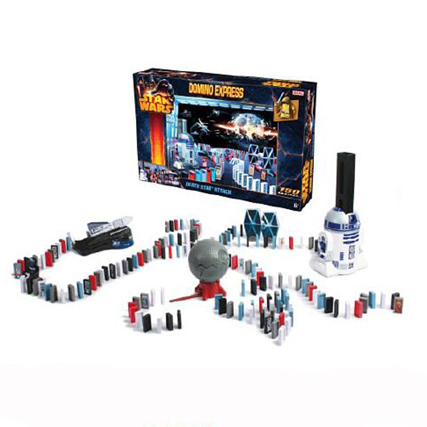 Domino Express Star wars Death Star Attack 150 Piece No Colour