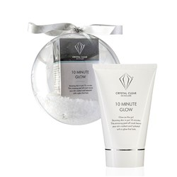 Crystal Clear 10 Min Glow 100ml Christmas Bauble
